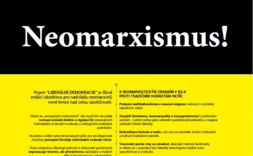 PLAKÁT: Neomarxismus